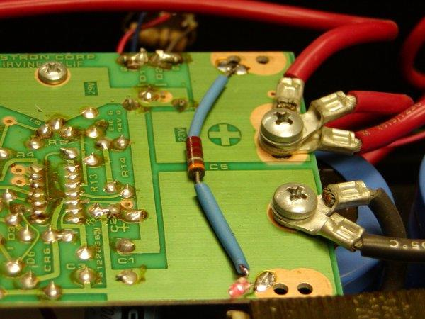 Astron Power Supply Meter Modification